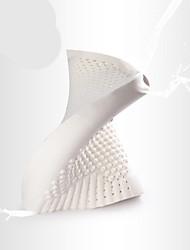abordables -Confortable-Qualité supérieure Oreiller en latex naturel Appui-tête 100% Polyester