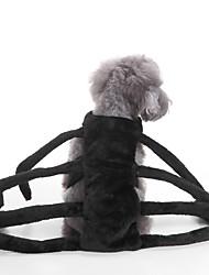 abordables -Gato Perro Disfraces Ropa para Perro Un Color Negro Terileno Disfraz Para mascotas Fiesta Cosplay Halloween