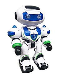 cheap -RC Robot LZ555-3 Kids' Electronics ABS Singing Dancing Walking Remote Control Multi-function