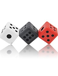 VD007 Dice Mini Hidden Camera Black/White/Red Outdoor Hide Sport Dv HD Body Recorder