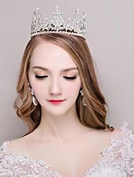 cheap -Rhinestone Alloy Tiaras 1 Wedding Birthday Headpiece