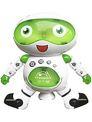 RC Robot LZ444-6 Kids' Electronics ABS Singing Dancing Walking Talking Multi-function Remote Control