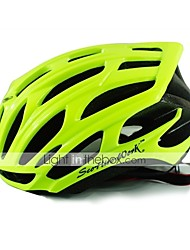 Unisex Bike Helmet 25 Vents Cycling Cycling M:55-58CM L:58-61CM PC EPS