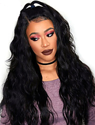 cheap -Body Wave 360 Lace Frontal Wigs with Baby Hair Top 180% Density Indian 360 Lace Wigs Virgin Human Hair with Bleached Knots Natural Hairline