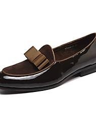 Herren Loafers & Slip-Ons Komfort formale Schuhe Tauchschuhe Frühling Herbst Echtes Leder Nappaleder Leder Party & Festivität Schleife