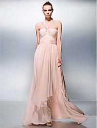 A-line eine schulter schatz bodenlänge chiffon prom dress von ts couture®