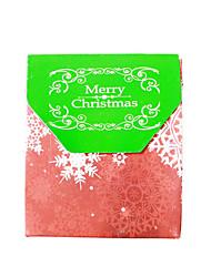 Ornamenti di albero diy di giftser di beter della scatola di favore dell'ornamento di natale 12pcs 7.4 x 3.5 x 8.7 cm / pcs