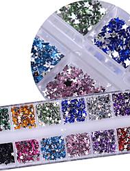 1 Manucure Dé oration strass Perles Maquillage cosmétique Nail Art Design