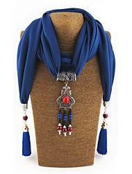 Femme Alliage Nylon Mélange de Coton Résine avec pince en métal Rectangle,Solide Toutes les Saisons