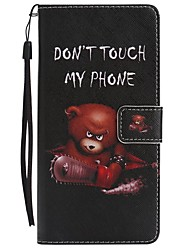 cheap -For Case Cover Card Holder Wallet with Stand Flip Magnetic Pattern Full Body Case Animal Hard PU Leather for Samsung Galaxy Note 8