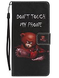 economico -Custodia Per Samsung Galaxy Note 8 A portafoglio Porta-carte di credito Con supporto Con chiusura magnetica Fantasia/disegno A calamita