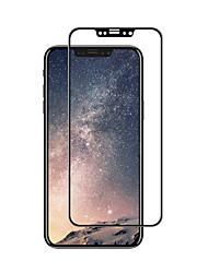 abordables -Vidrio Templado Protector de pantalla para Apple iPhone X Protector de Pantalla, Integral Alta definición (HD) Dureza 9H Borde Curvado 3D