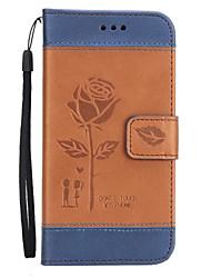 preiswerte -Hülle Für Apple iPhone X iPhone 8 iPhone 8 Plus Kreditkartenfächer Geldbeutel mit Halterung Flipbare Hülle Geprägt Ganzkörper-Gehäuse