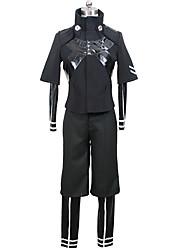 abordables -Inspirado por Tokyo Ghoul Ken Kaneki Animé Disfraces de cosplay Trajes Cosplay Color sólido Chaqueta Leotardo/Pijama Mono Pantalones Para