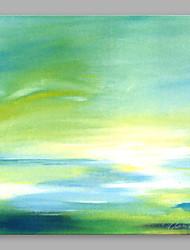 abordables -Peint à la main Abstrait Carré, Artistique Toile Peinture à l'huile Hang-peint Décoration d'intérieur Un Panneau