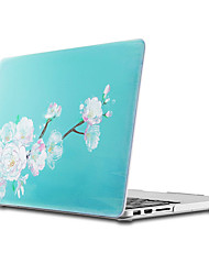 abordables -MacBook Funda para MacBook Air 13 Pulgadas MacBook Air 11 Pulgadas MacBook Pro 13 Pulgadas con Pantalla Retina Flor TPU Material