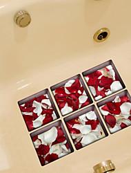 Floral Adesivos de Parede Autocolantes 3D para Parede Autocolantes de Parede Decorativos Material Decoração para casa Decalque