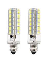 cheap -BRELONG Dimmable E11 E12 E14 E17 8W 152x3014SMD 3000-3500K/6000-6500K Warm White/White Light LED Corn Bulb AC110V/220V 2PCS