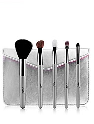 cheap -1set Makeup Brush Set Horse Goat Hair Synthetic Hair Easy Carrying Easy to Carry Wood Men Men and Women Eye Daily Eyes Health&Beauty