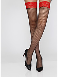 Women's Socks & Hosiery Sexy Stretchy Thin Lace Patchwork Stockings,Nylon