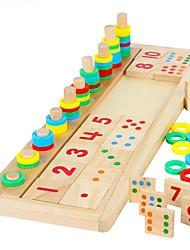 economico -Costruzioni Strumento didattico Montessori Giocattoli di matematica Gioco educativo Giocattoli Rettangolare Fai da te Per bambini Maschio