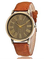 Per uomo Per donna Orologio elegante Orologio alla moda Creativo unico orologio Cinese Quarzo Tessuto Banda Ciondolo Casual Di lusso
