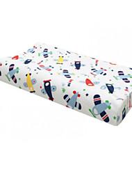 baratos -Confortável-Qualidade superior Almofada de Pescoço de Memória Televisores 100% Poliéster Látex Tecido Elástico
