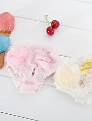 Cane Pantalone Abbigliamento per cani Casual Tinta unita Beige Rosa