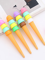 12 PCS Ice Cream Desig Blue Ink Gel Pen Set