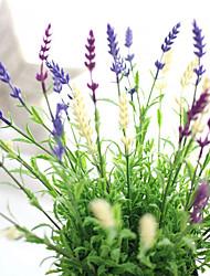 cheap -Artificial Lavender Plant Wedding Flower Arrangement Home Decoration 10 Branch
