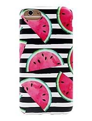 Недорогие -чехол для iphone 7 6 фруктов tpu мягкая ультратонкая задняя крышка чехол iphone 7 плюс 6 6s плюс se 5s 5 5c 4s 4