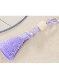Bag / Phone / Keychain Charm Crystal / Rhinestone Style Tassel Crystal Polyester Chinese Style 14CM