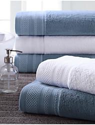 Serviette de bain,Solide Haute qualité Mélangé polyester/coton Serviette