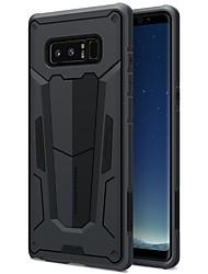Hülle Für Samsung Galaxy Note 8 Stoßresistent Rückseitenabdeckung Volltonfarbe Hart PC für Note 8