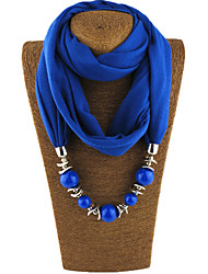cheap -Women's Vintage Infinity Scarf - Solid Colored
