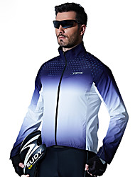 cheap -SANTIC Cycling Jacket Men's Bike Top Bike Wear Windproof Geometric Recreational Cycling Cycling / Bike Mountain Bike/MTB
