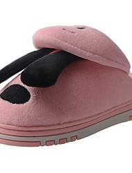 Da ragazza Scarpe Velluto Inverno Comoda Fodera di pelliccia Fodera di lanugine Pantofole e infradito Pompon Per Casual Giallo Chiaro