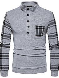 cheap -Men's Street chic T-shirt - Striped Stand