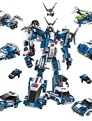abordables -ENLIGHTEN Robot Blocs de Construction 577 pcs A Faire Soi-Même Avion Chasseur Robot Enfant Adulte Garçon Cadeau