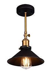 cheap -Adjustable Vintage Loft Simple Ceiling Lamp Flush Mount lights Entry Hallway Game Room Kitchen light Fixture