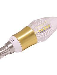 economico -1 pezzo 5W E14 Luci LED a candela T 40 leds SMD 2835 Bianco caldo Luce fredda 460lm 2800-35005000-6500K AC 85-265V
