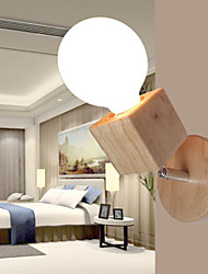 cheap -Modern/Contemporary Wall Lamps & Sconces For Wood/Bamboo Wall Light 220-240V