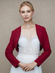 abordables -la fiesta de bodas de la gasa / el abrigo de las mujeres de la tarde encoge de un estilo elegante