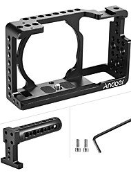 Andoer Protective Video Camera Cage  Top Handle Kit Aluminum Alloy Film Making System for Sony A6000 A6300 NEX7 ILDC to Mount Microphone Monitor Trip
