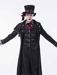 cheap -Ringmaster Cosplay Costume Adults' Halloween Festival / Holiday Halloween Costumes Fashion Vintage