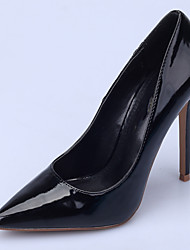 cheap -Women's Shoes Patent Leather Spring / Fall Basic Pump Heels Stiletto Heel Pointed Toe Blue / Green / Blue / Nude / Party & Evening