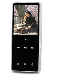 HifiPlayer4GB 3.5mm Anschluß TF-Karte 128GBdigital music playerTaste Berührungssensitiv