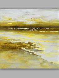 Peint à la main Paysage Grande occasion Style artistique Artistique Style classique Un Panneau Toile Peinture à l'huile Hang-peint For