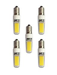 economico -3W E14 Luci LED Bi-pin T 2 leds COB Bianco caldo Bianco 240lm 3000-3500/6000-6500K AC 220-240V