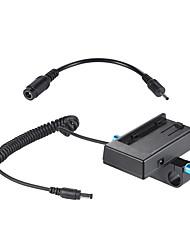 e placa de montagem da bateria da câmera placa de alimentação adaptador com grampo de haste de 15 mm para bmcc bmpcc para bateria sony